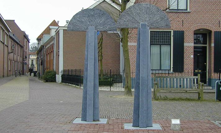 beelden openbare ruimte Marianne van den Heuvel