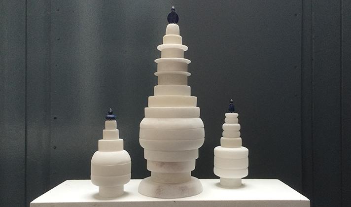 urnen en huisurnen beeldhouwer Marianne van den Heuvel