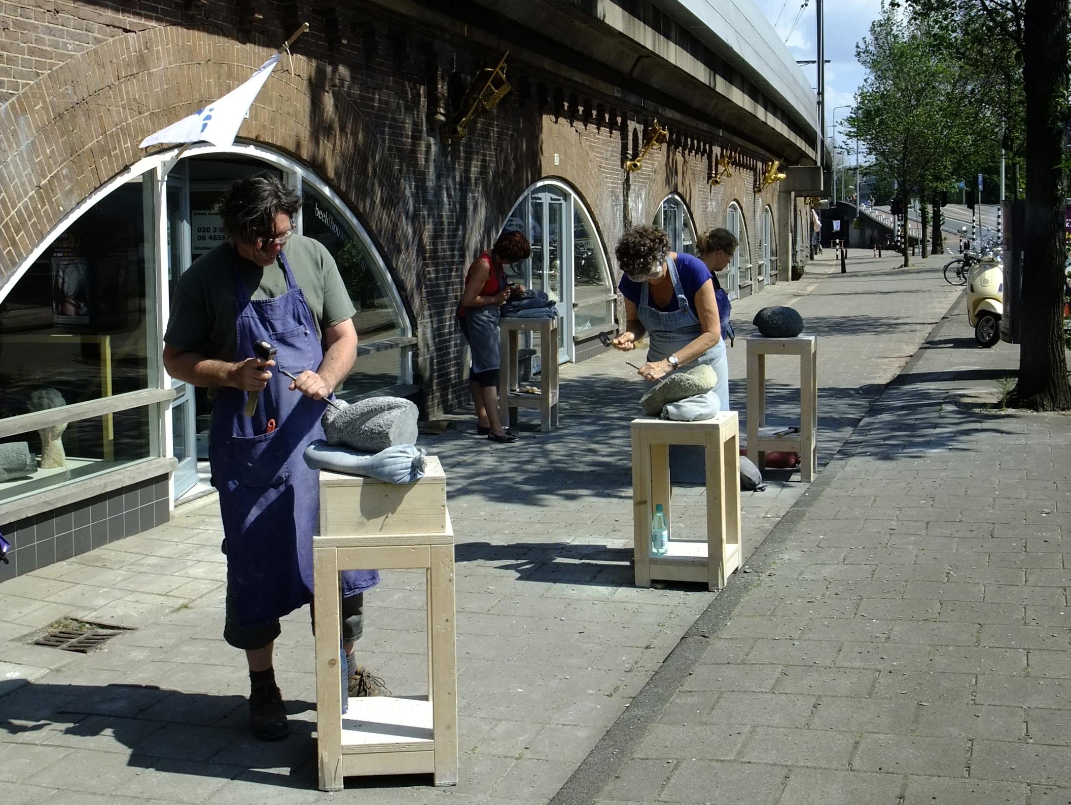 beeldhouwlessen Amsterdam Marianne van den Heuvel