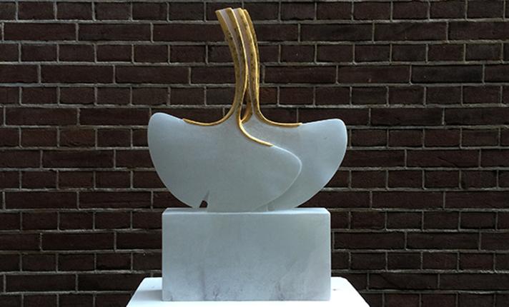 thuispagina beeldhouwer Marianne van den Heuvel