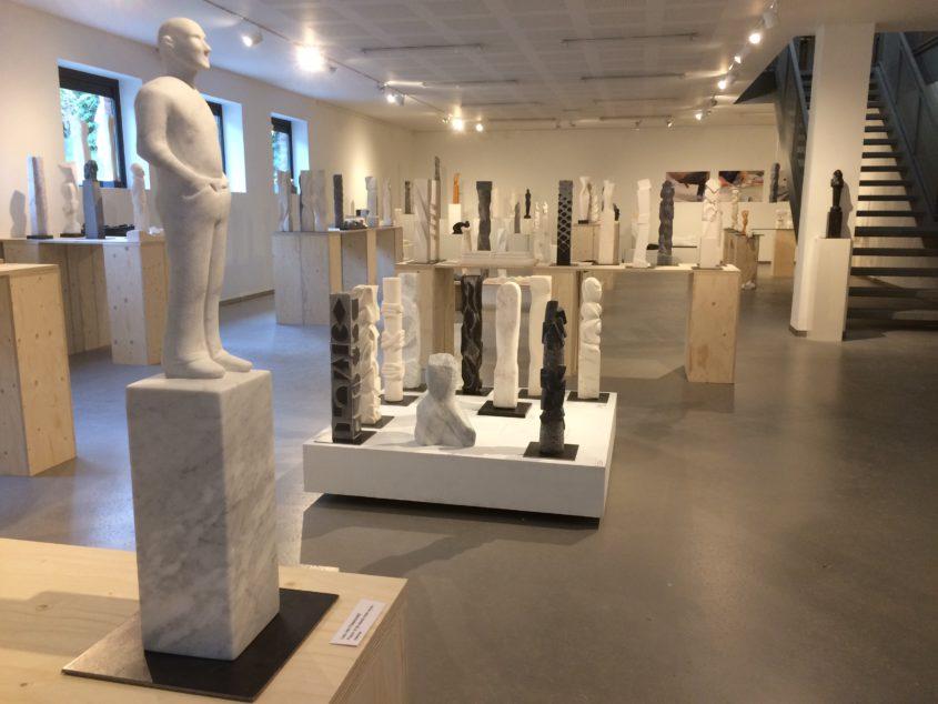 Beeldhouwschool Amsterdam tentoonstelling 2016